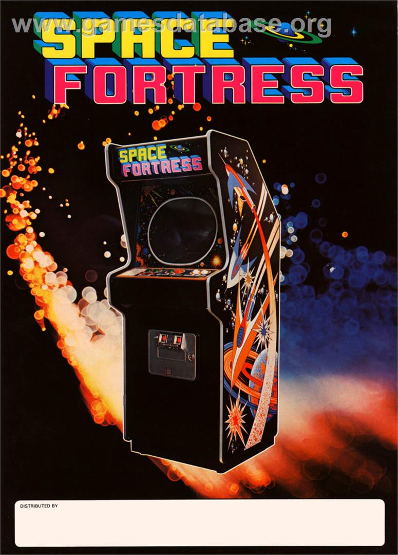Space Fortress - Arcade - Artwork - Advert