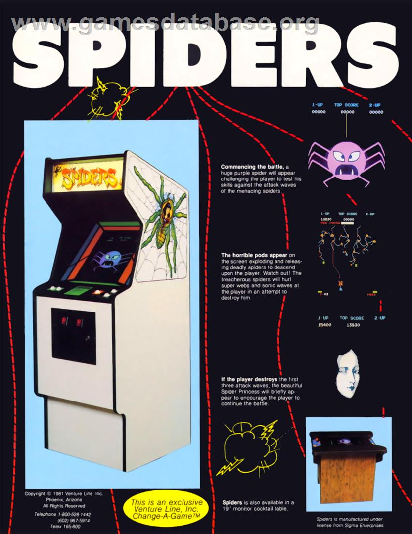 spinner arcade games