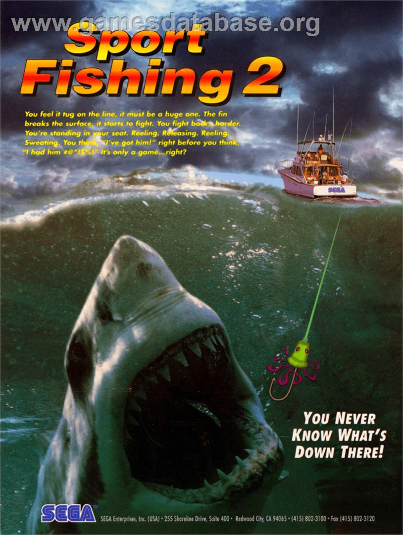 Sport fishing 2 arcade games database for Sport fishing games