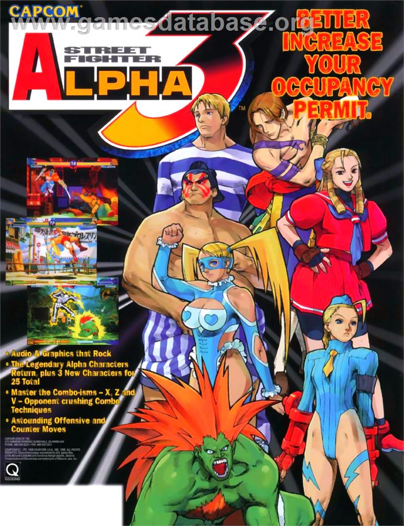 Street Fighter Alpha 3 PC Game - Free Download Full Version