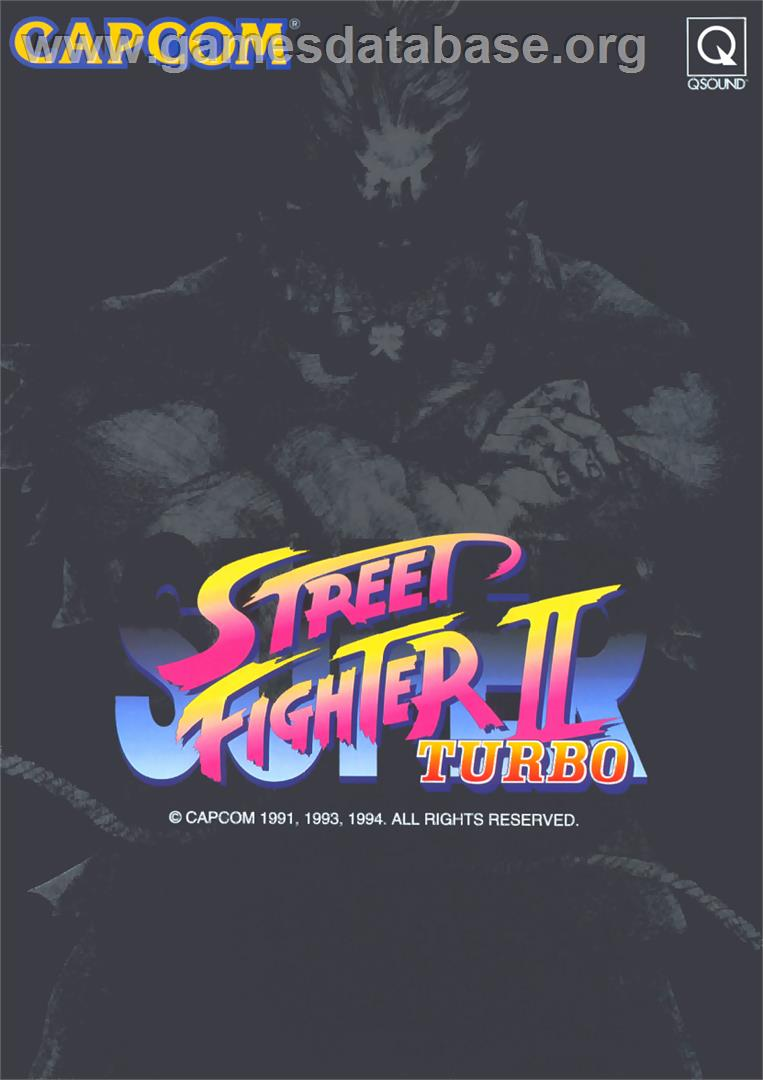 Super Street Fighter II Turbo - Arcade - Artwork - Advert