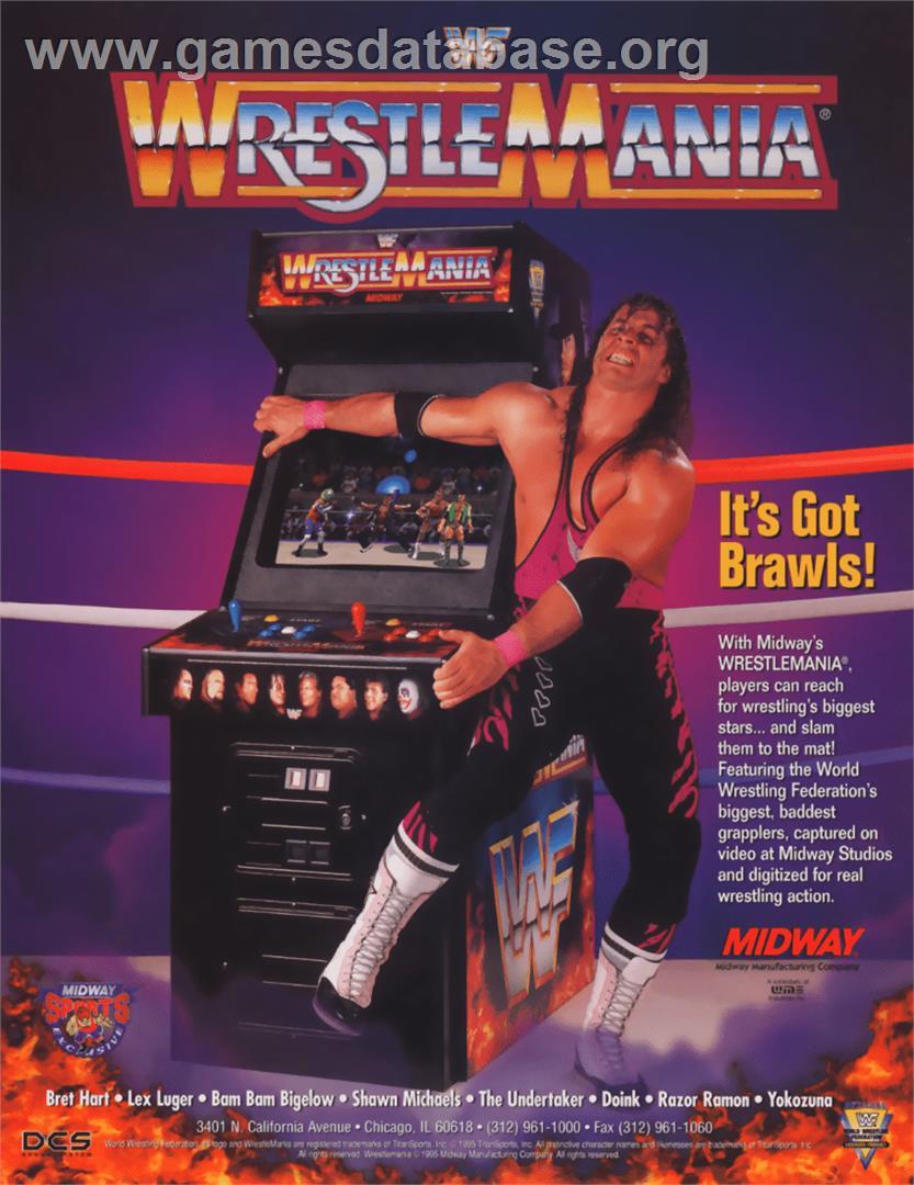 Wwf Wrestlemania Arcade Games Database