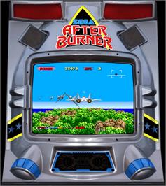 Artwork for After Burner II.