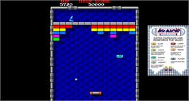 Artwork for Arkanoid.