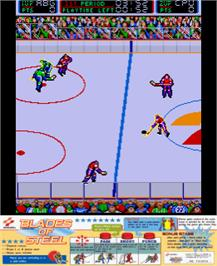 Artwork for Blades of Steel.