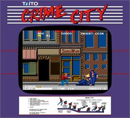 Artwork for Crime City.