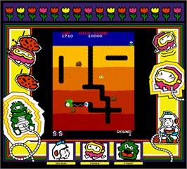 Artwork for Dig Dug.
