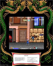 Artwork for Double Dragon.
