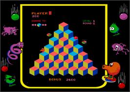 Artwork for Faster, Harder, More Challenging Q*bert.