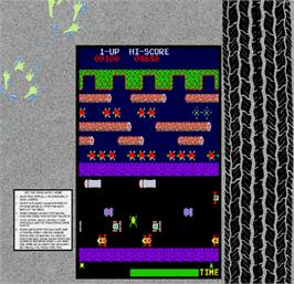 Artwork for Frogger.