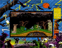 Artwork for Ghouls'n Ghosts.