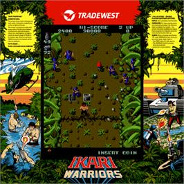 Artwork for Ikari Warriors.