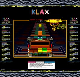 Artwork for Klax.