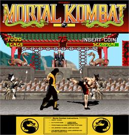 Artwork for Mortal Kombat.
