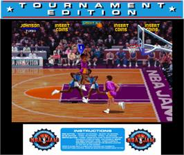 Artwork for NBA Jam TE.