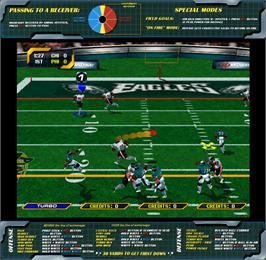 Artwork for NFL Blitz 2000 Gold Edition.
