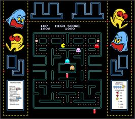 Artwork for Pac-Man Plus.