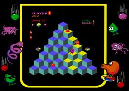 Artwork for Q*bert.