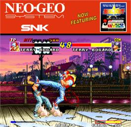 Artwork for Real Bout Fatal Fury / Real Bout Garou Densetsu.