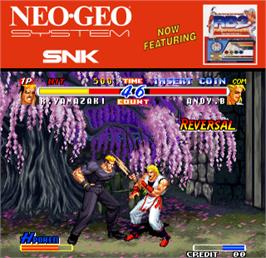 Artwork for Real Bout Fatal Fury 2 - The Newcomers / Real Bout Garou Densetsu 2 - the newcomers.