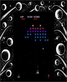 Artwork for Space Invaders Galactica.