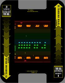 Artwork for Space Invaders II.