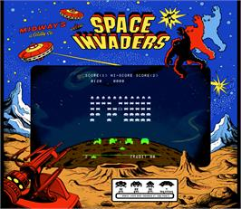 Artwork for Space Invaders Test ROM.