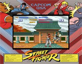 Artwork for Street Fighter.