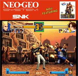 Artwork for The King of Fighters 2001.