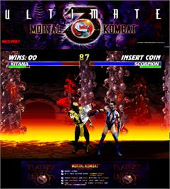 Artwork for Ultimate Mortal Kombat 3.