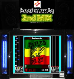 Artwork for beatmania 2nd MIX.
