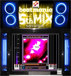 Artwork for beatmania 5th MIX.