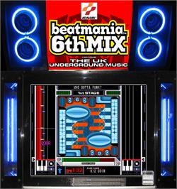 Artwork for beatmania 6th MIX.