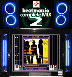 Artwork for beatmania complete MIX 2.