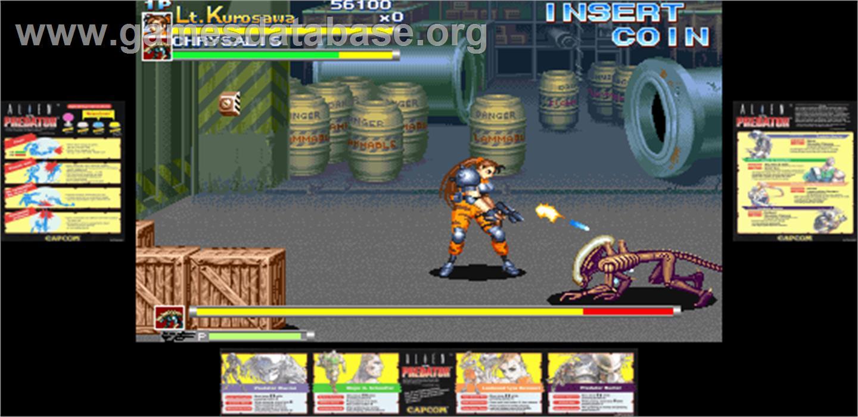 Alien Vs Predator Arcade Games Database