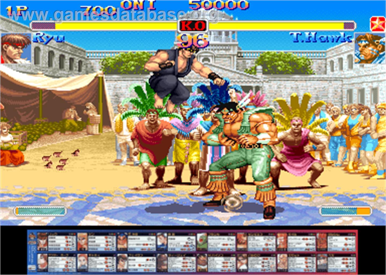 hyper street fighter anniversary edition