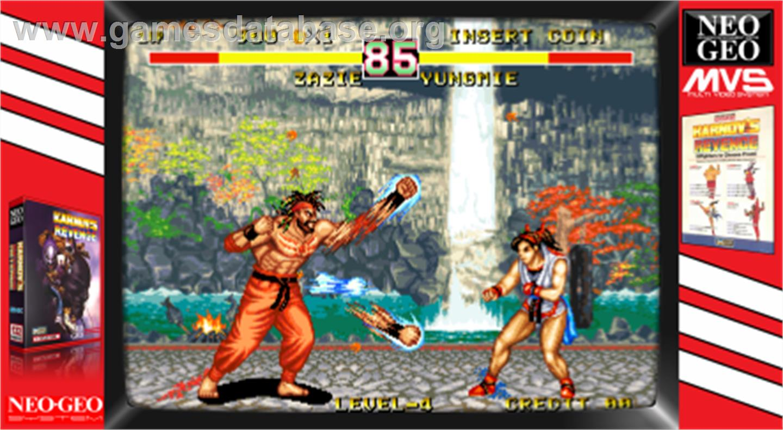 Karnov's Revenge / Fighter's History Dynamite - Arcade