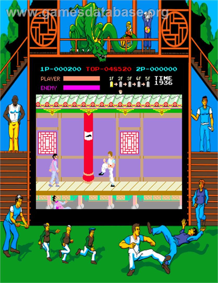 Kung-Fu Master - Arcade - Games Database