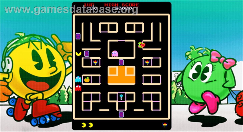 Pac & Pal - Arcade - Artwork - Artwork