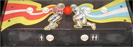 Arcade Control Panel for 10-Yard Fight.