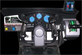 Arcade Control Panel for Airline Pilots.