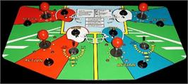 Arcade Control Panel for All American Football.