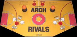 Arcade Control Panel for Arch Rivals.