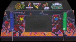 Arcade Control Panel for Area 51: Site 4.