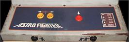 Arcade Control Panel for Astro Fighter.