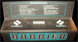Arcade Control Panel for Barrier.