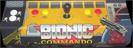 Arcade Control Panel for Bionic Commando.