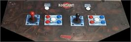 Arcade Control Panel for Blood Storm.