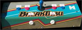 Arcade Control Panel for Break Thru.