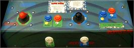 Arcade Control Panel for Bubble Bobble.